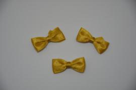mini vlinderdasje - goud