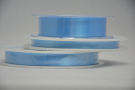 satijn lint - babyblauw