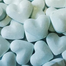 Dextrose hartjes - blauw