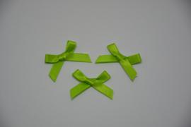 mini strikje - limoengroen