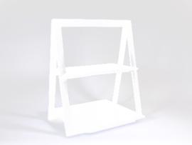 Driehoekig REKJE wit