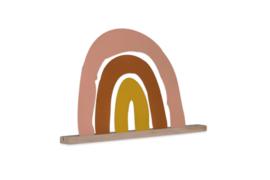 Magnetische Regenboog met eiken houder