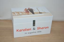 enveloppenbox - foto - hout
