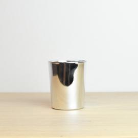 Kaars mini zilver