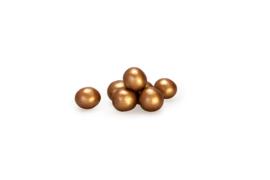 Choco choops parelmoer - koper - 500 gr