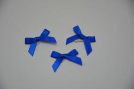 mini strikje - koningsblauw