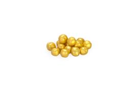 Choco choops - mini - parelmoer - goud - 500 gr