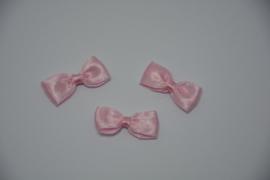 mini vlinderdasje - roze