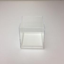 plexi kubus met witte bodem