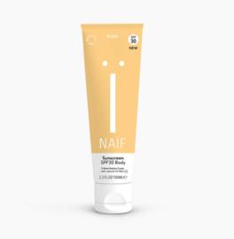 Natuurlijke zonnebrandcrème lichaam SPF30
