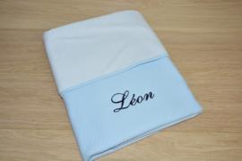deken Losange blauw