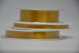 satijn lint - goud
