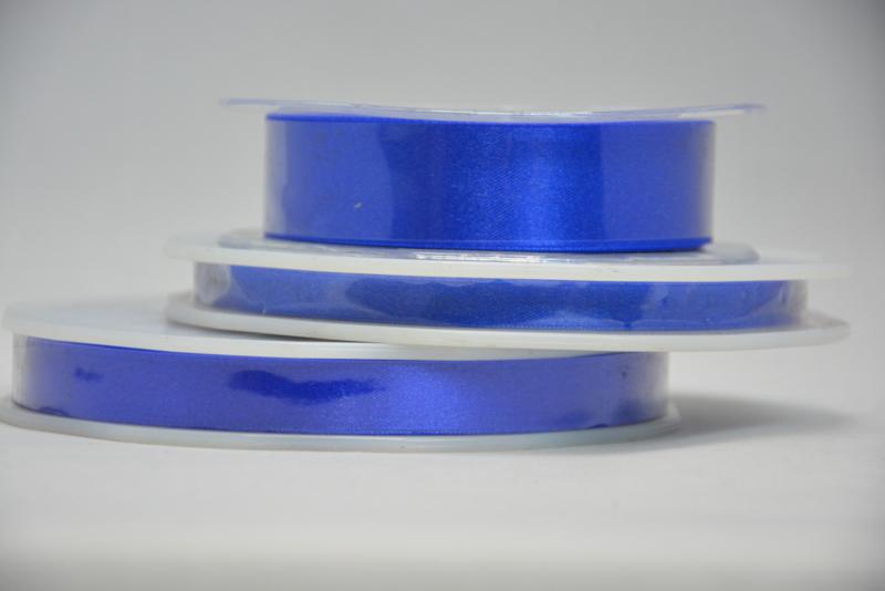 satijn lint - koningsblauw