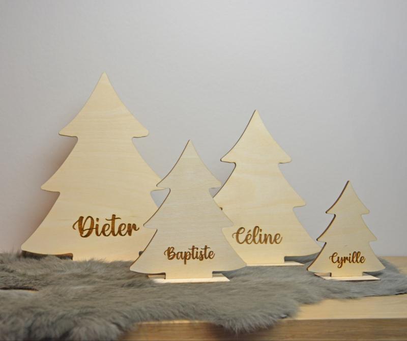 Kerstboom op voet - vanaf