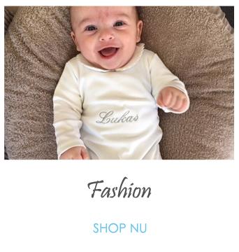geborduurde babytextiel