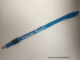 Keycord lichtblauw