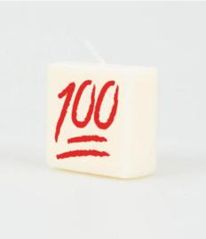 Letterkaarsje 100
