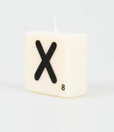Letterkaarsje X