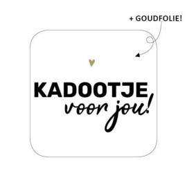 Wensetiket Kadootje voor jou!