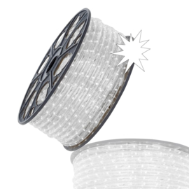 Led lichtslang koel wit met twinkel per 1,5 mtr