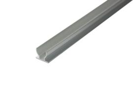 U-Profiel 50 mtr aluminium