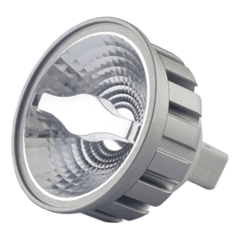 LED MR-16 Zilver 5 Watt COB 2700K 24°