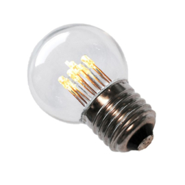 LED P45 1 Watt 2700K Helder