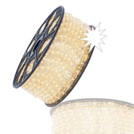 Led lichtslang warm wit met twinkel per 1,5 mtr