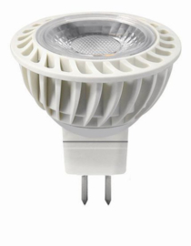 LED MR-16 Wit 5 Watt COB 2700K 40°
