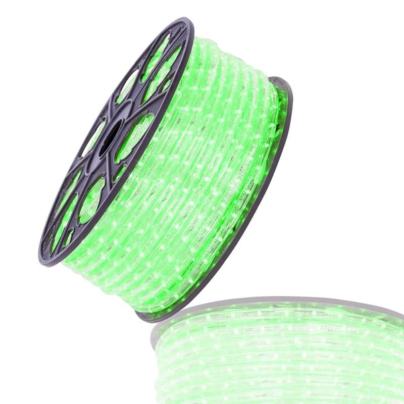Led lichtslang 51mtr groen 230V
