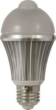 LED E27 Lamp 7 Watt 2700K met PIR sensor