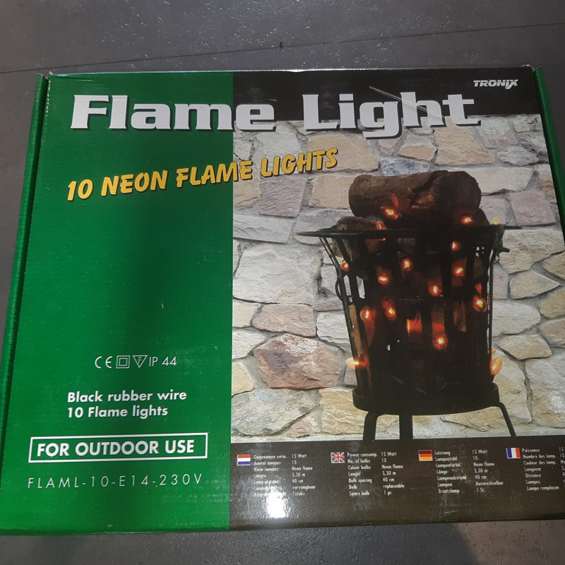 Flame Light neon