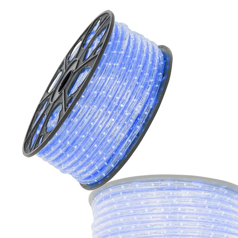 Led lichtslang 51mtr blauw230V