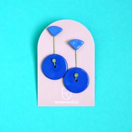 porcelain earrings Fête