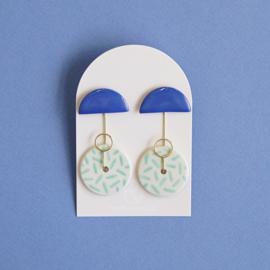 porcelain earrings Orion