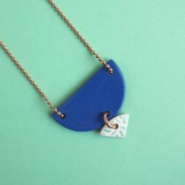 porcelain necklace Annie