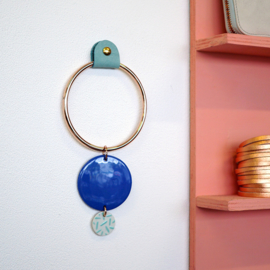 porcelain wall jewelry 'les cercles'