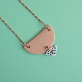 porcelain necklace Annie