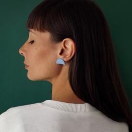porcelain earrings Mezzo