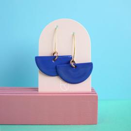 porcelain earrings Luna
