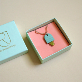 porcelain necklace Gelato