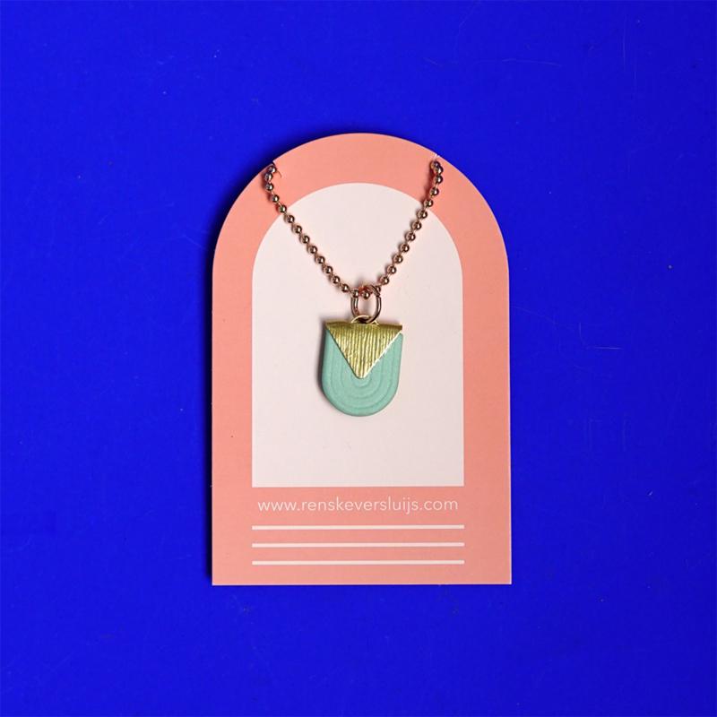 porcelain necklace Dôme