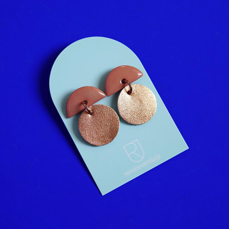 porcelain earrings Stella