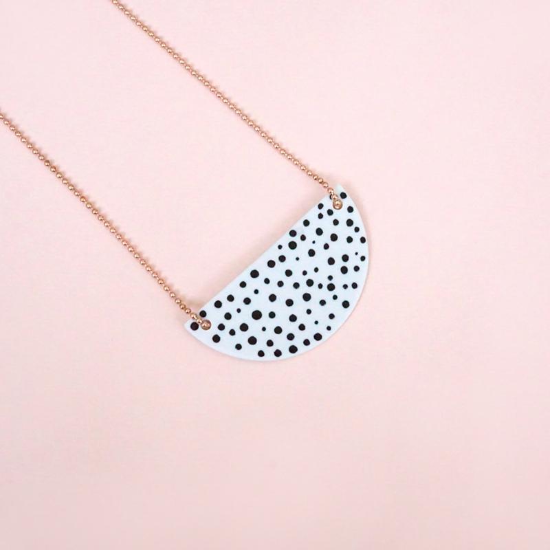 porcelain necklace Maud