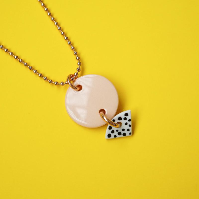 porcelain necklace Zazel