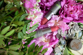 Pearly Transparant Lippenstift Bio  -  Boho green make-up
