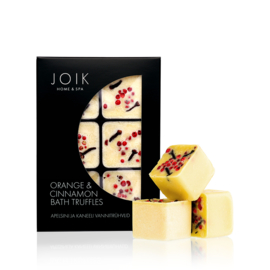 Orange & Cinnamon Badtruffel 258g - JOIK