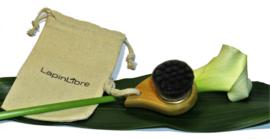 Gezichtsborstel Bamboo Charcoal - LapinLibre