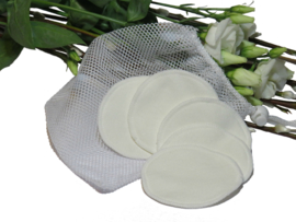 Ecologische make-up pads van bamboofleece