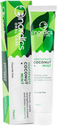 Toothpaste Coconut + Mint 75ml - Nordics